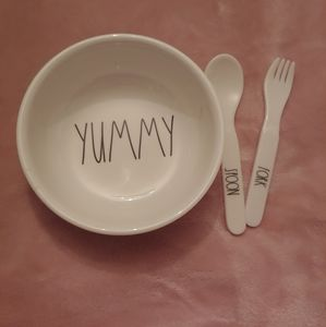 Rae Dunn Baby Utensils